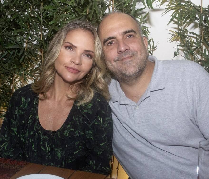 Leila Sterenberg e André Martins /Foto: Vera Donato