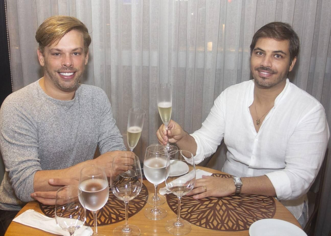 Bruno Chateaubriand e Diogo Bocca /Foto: Vera Donato