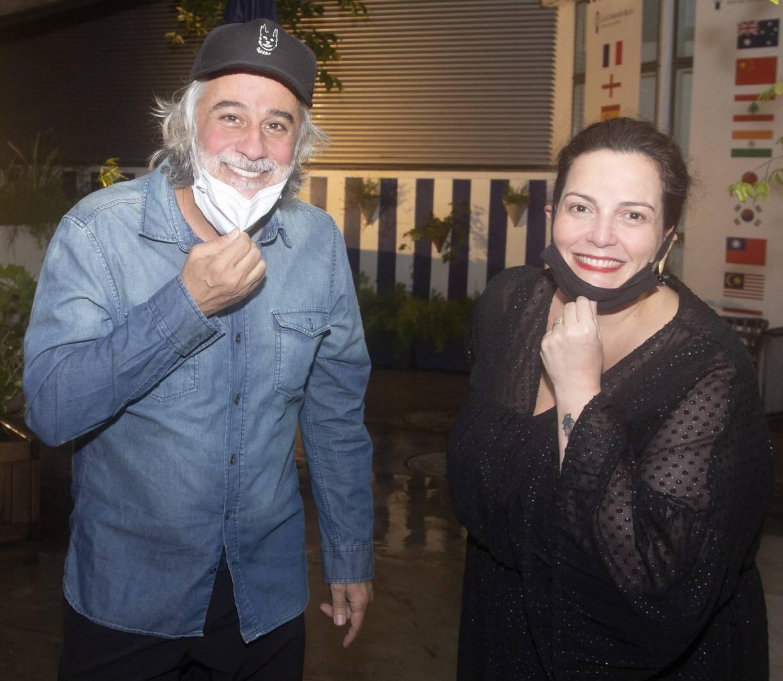 Luiz Pereira e Marcella Sobral /Foto: Vera Donato