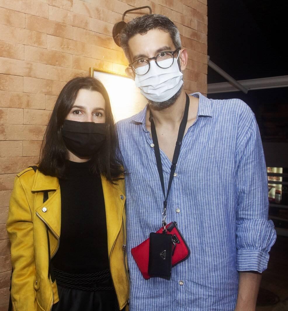 Patricia Tremblais e Igor Barros /Foto: Vera Donato