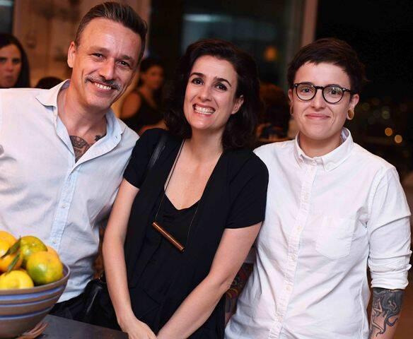 Fabiano Cid, Fernanda Cardim e Barbara Wolf