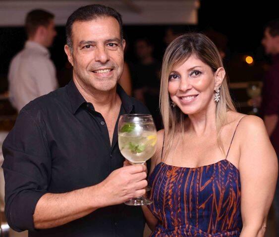 Marcos Frota e Paula Penedo