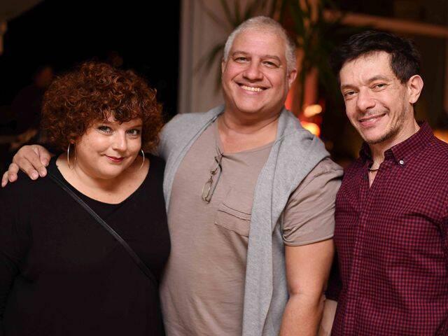 Rosanne Morais Rego, Celinho Vidal e André Piva
