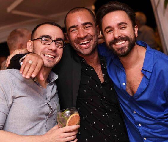 Vitor Sherman, Vitor Brasil e Guilherme Cintra