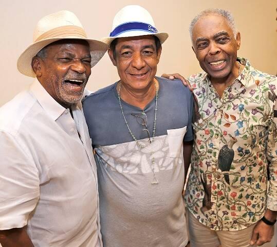Antônio Pitanga, Zeca Pagodinho e Gilberto Gil