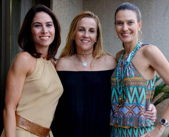 Daniela Lacombe, Lucinha Amorim e Gilda Freire