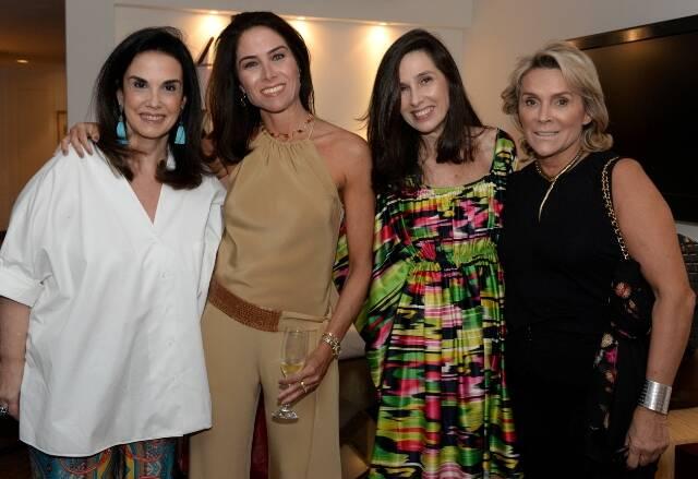 Georgeana Vasconcellos, Daniela Lacombe, Claudia Amado e Denise Bastos