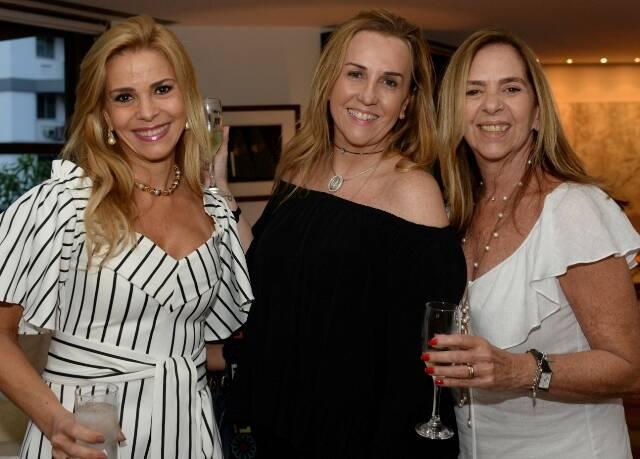 Manoela Ferrari, Lucinha Amorim e Felícia Brafman