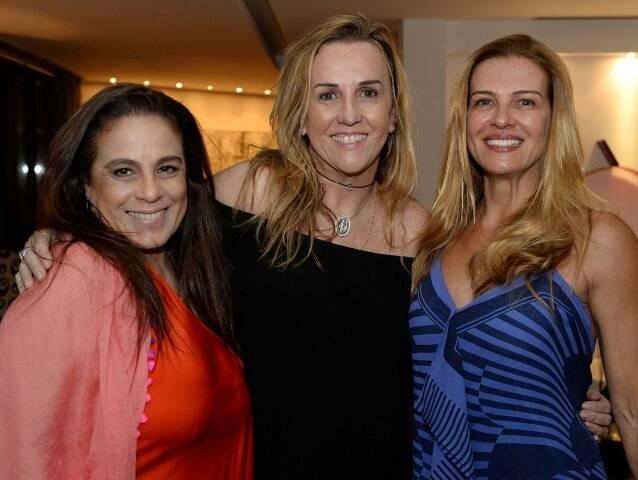 Tereza Xavier, Lucinha Amorim e Deborah Barbosa