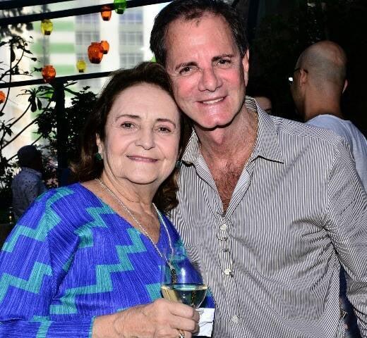 Lucinha Araújo e Edgar Moura Brasil