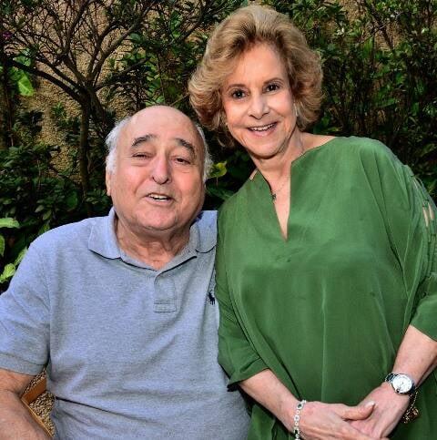 Paulo César e Isabel Ferreira