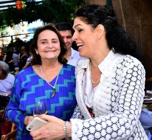 Lucinha Araújo e Paula Lavigne