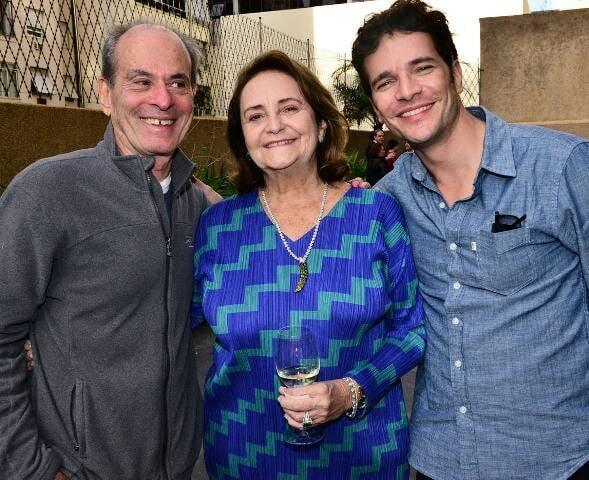 Ney Matogrosso, Lucinha Araújo e Daniel de Oliveira