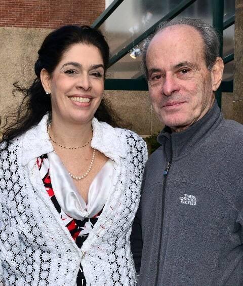 Paula Lavigne e Ney Matogrosso