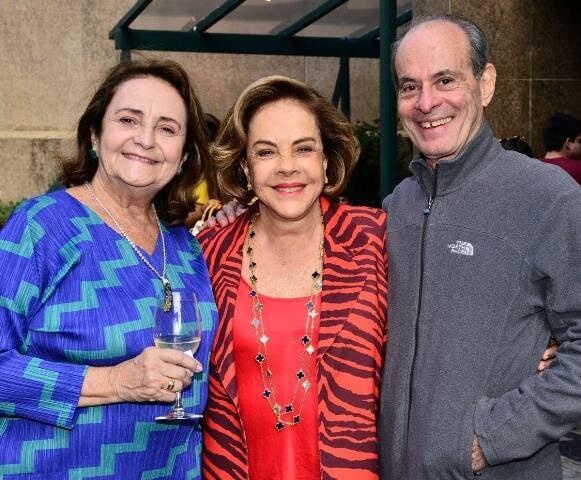 Lucinha Araújo, Regina Rique e Ney Matogrosso