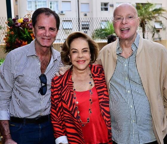 Edgar Moura Brasil, Regina Rique e Gilberto Braga