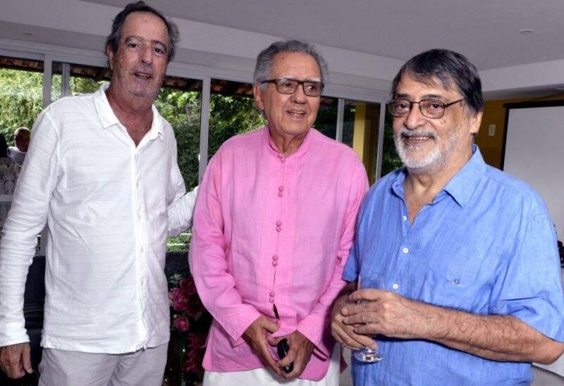 Sérgio Rezende, Luiz Carlos Barreto e Walter Lima Jr.