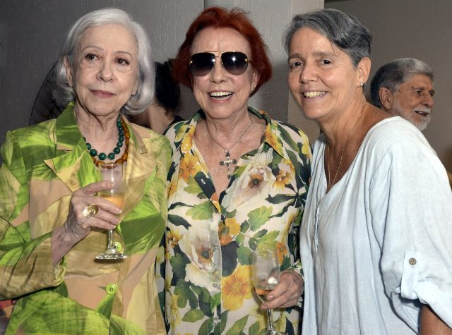 Fernanda Montenegro, Lucy Barreto e Paula Barreto