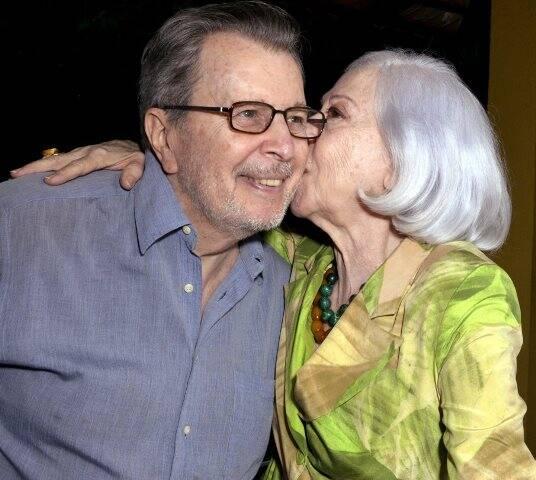 Daniel Filho e Fernanda Montenegro