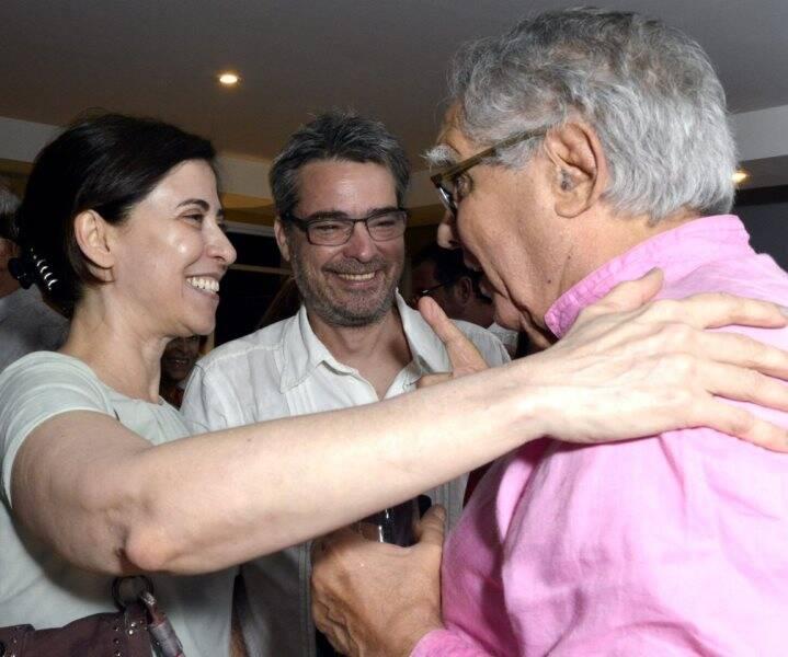 Fernanda Torres, Andrucha Waddington e Luiz Carlos Barreto