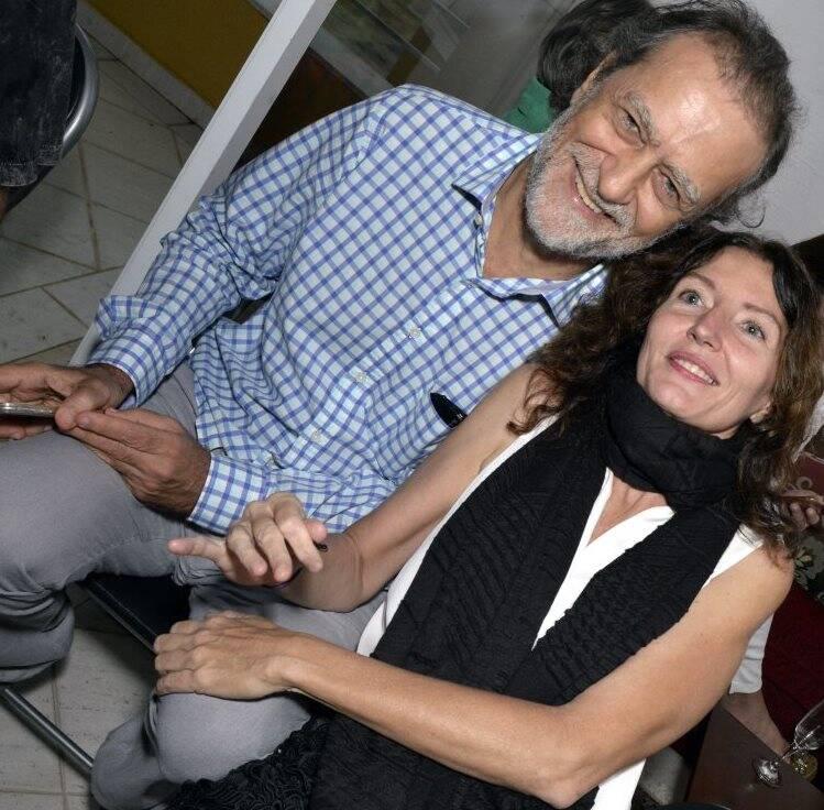 Marcos Altbert e Mariana Camargo