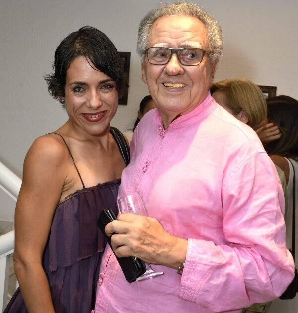 Julia Barreto e Luiz Carlos Barreto