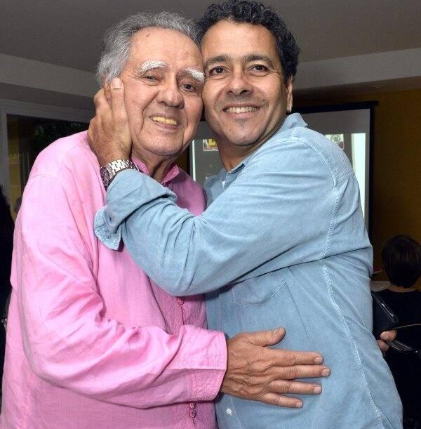 Luiz Carlos Barreto e Marcos Palmeira
