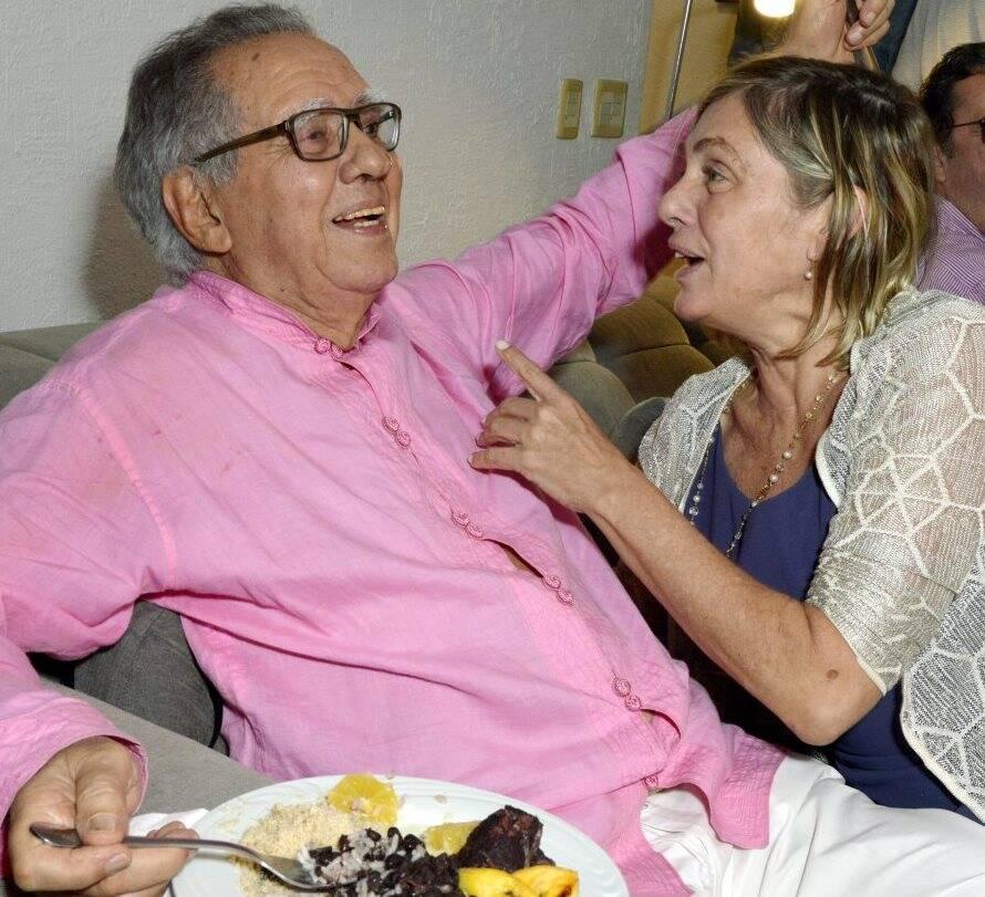 Barretão e Carla Camurati
