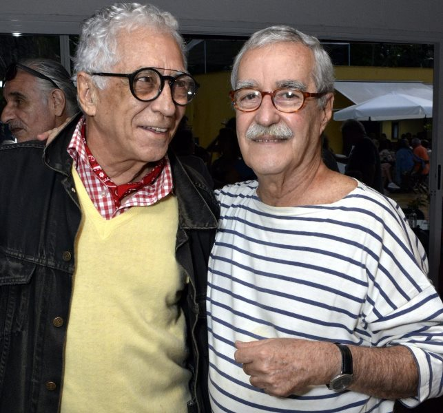 Neville d'Almeida e Luiz Carlos Lacerda