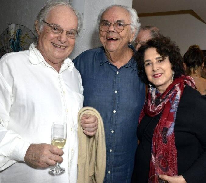Francis Hime, Zelito Viana e Olivia Hime