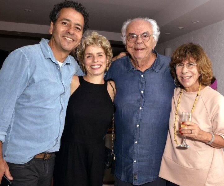 Marcos Palmeira, Gabriela Gastal, Zelito Viana e Vera de Paula