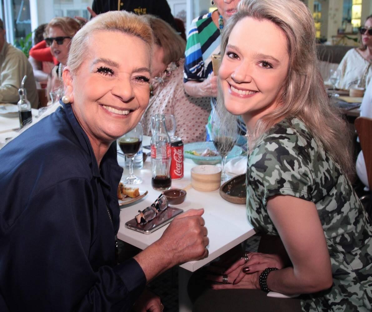 Vera Bangel e  Roberta Fonseca  /Foto: Vera Donato