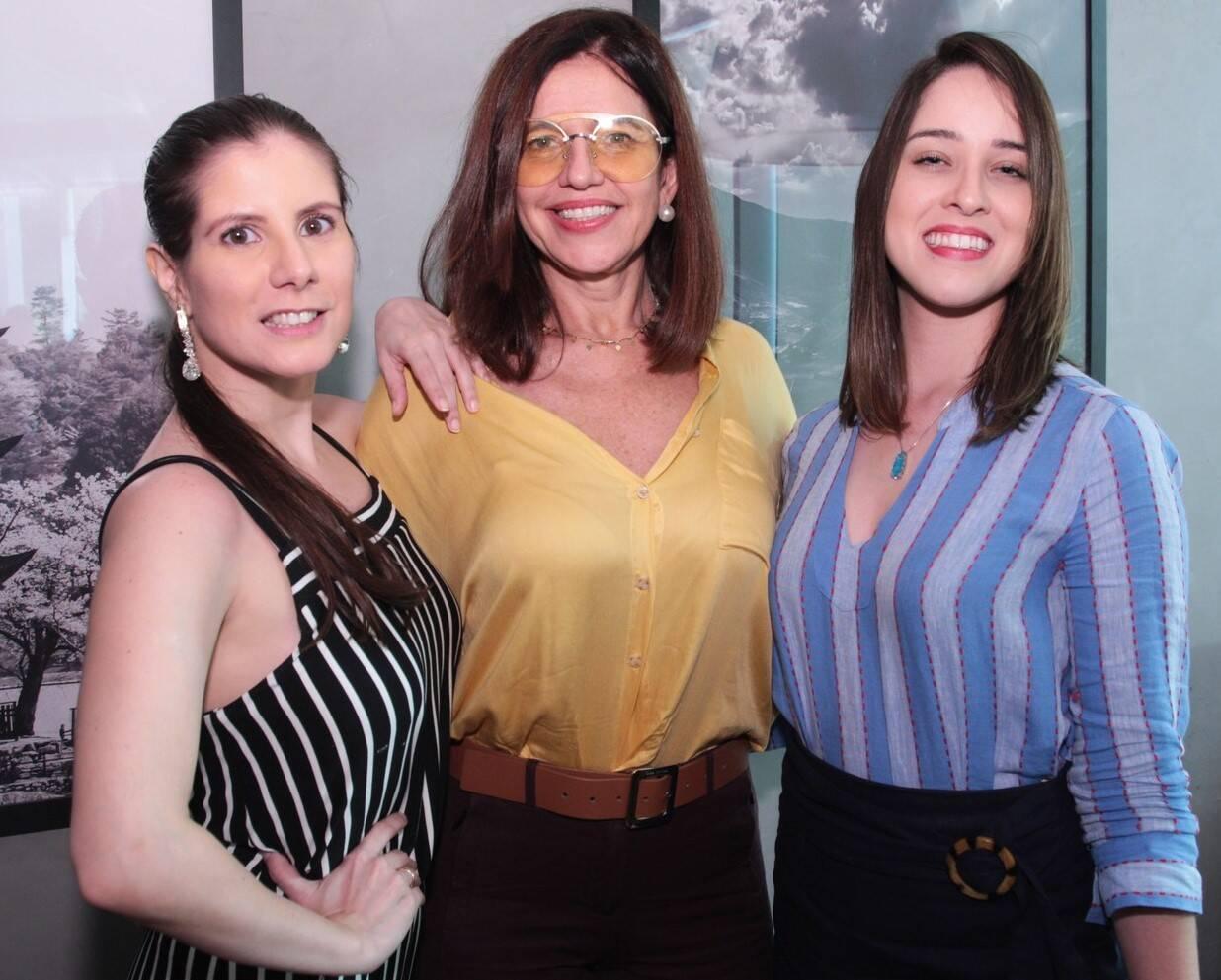 Evelyn Montesano, Marcia Dornelles e Beatriz Mello /Foto: Vera Donato
