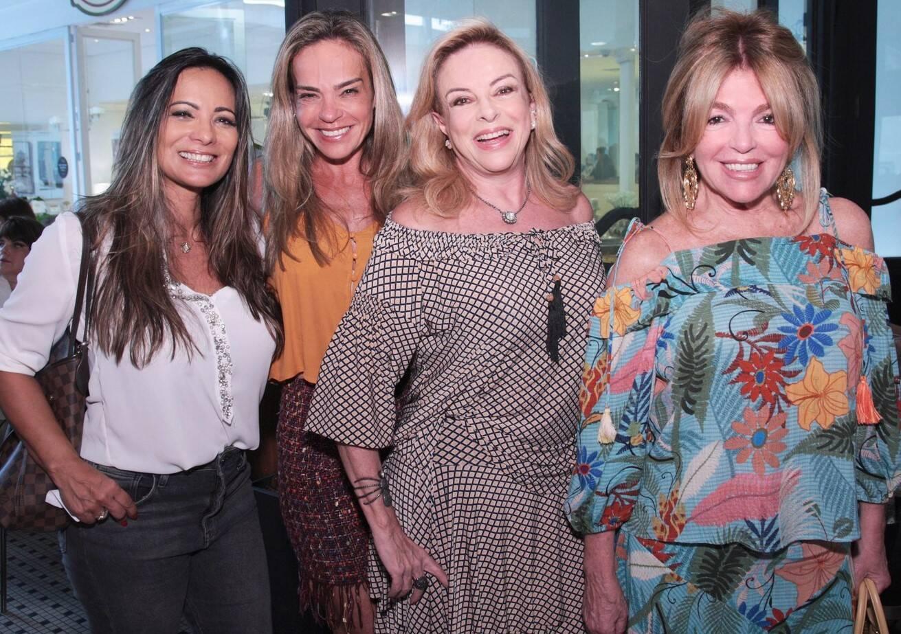 Marcia Romão, Carol Rajão, Suely Bedran e Sonia Simonsen /Foto: Vera Donato