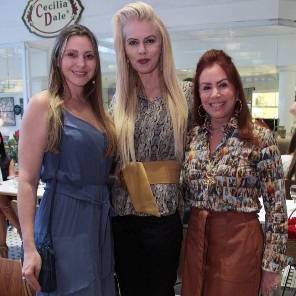 Maisa Vasconcelos, Giovanna Priolli e Marise Gollo /Foto: Vera Donato