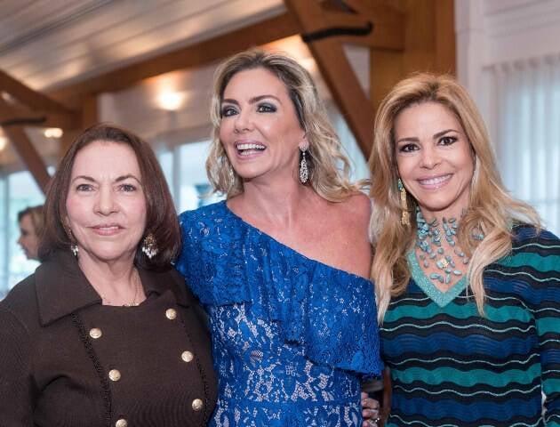 Amancia Mattos, Marcia Veríssimo e Manoela Ferrari