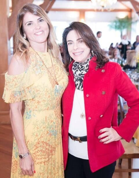 Claudia Lobo e Tania Lima