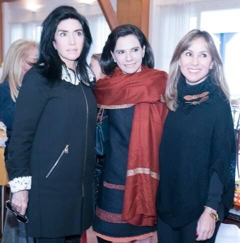 Elda Monnerat, Valeria Arrigoni e Andrea Rudge