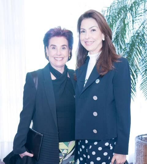 Lenir Lampreia e Milene Peltier