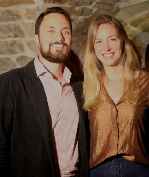 Bernardo Marandino e Patricia Marques