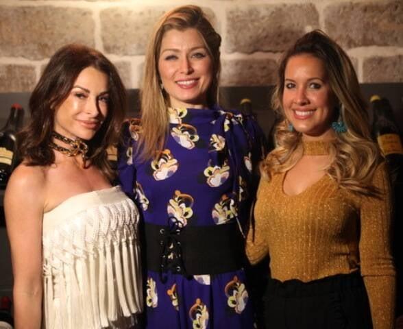 Erika Santos, Marina Giuberti e Mari Melo