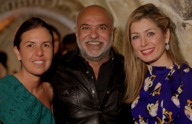Morena Leite, Paulo Pereira e Marina Giuberti