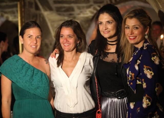 Morena Leite, Tula Moraes, Alessandra Jacquier e Marina Giuberti