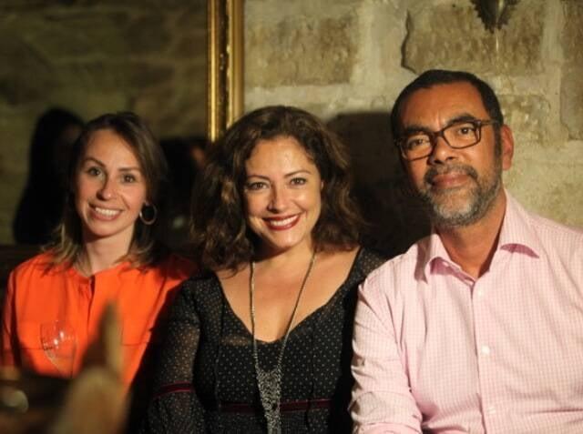 Schay Tokarski, Vanessa Vholker e Francisco Andrade