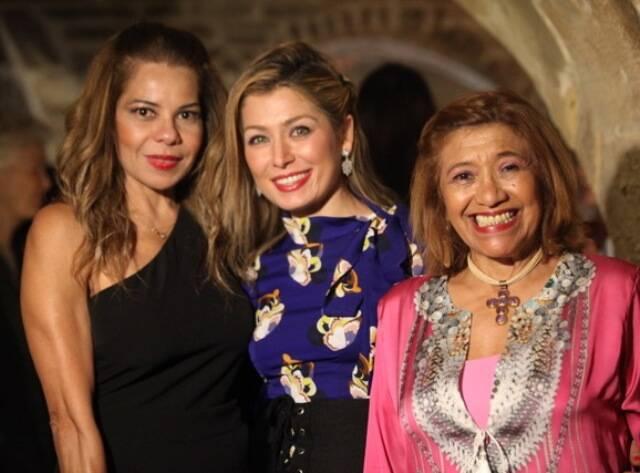 Zaida Brígido, Marina Giuberti e Marina Nunes