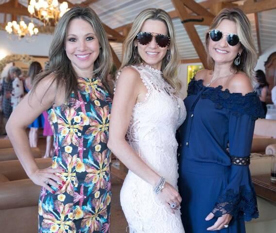Alessandra Amaral, Adriana Monteiro e Adriana Indelli