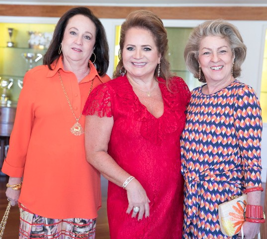 Beth Serpa, Renata Fraga e Margareth Padilha