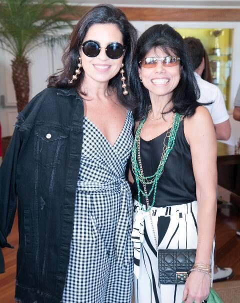 Cristine Ferraciu e Ana Lúcia Azevedo Antunes