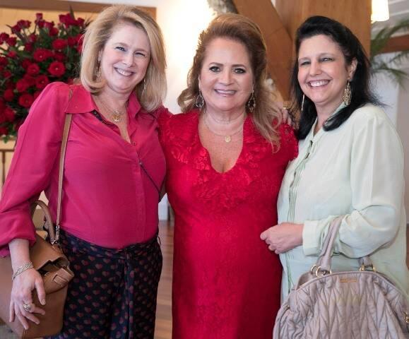 Gloria Severiano Ribeiro, Renata Fraga e Clara Magalhães