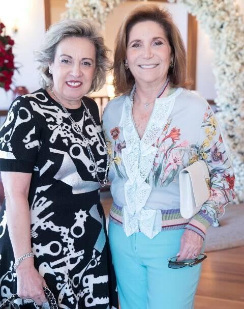 Maria Célia Moraes e Ruth Niskier